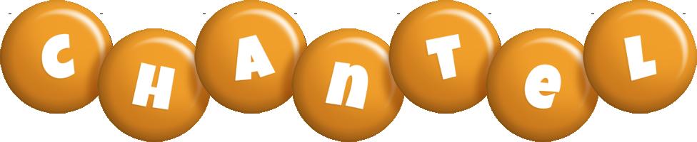 Chantel candy-orange logo