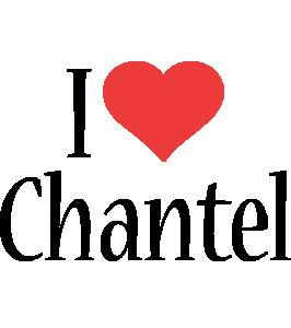 Chantel i-love logo