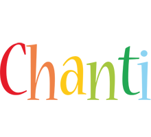 Chanti birthday logo