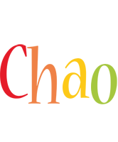 Chao birthday logo
