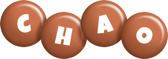 Chao candy-brown logo