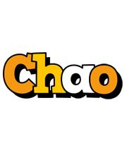 Chao cartoon logo