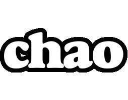 Chao panda logo