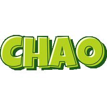 Chao summer logo