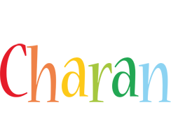 Charan birthday logo