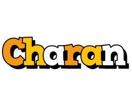 Charan cartoon logo