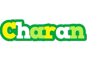 Charan soccer logo