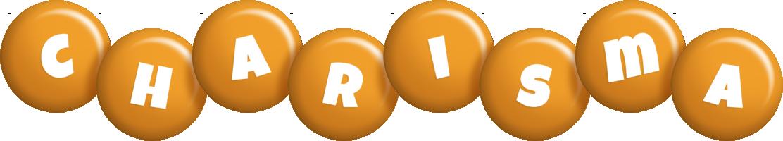 Charisma candy-orange logo