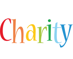 Charity birthday logo