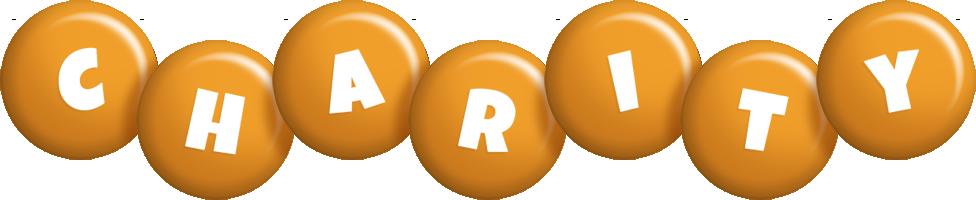 Charity candy-orange logo