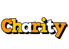 Charity cartoon logo