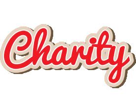 Charity chocolate logo