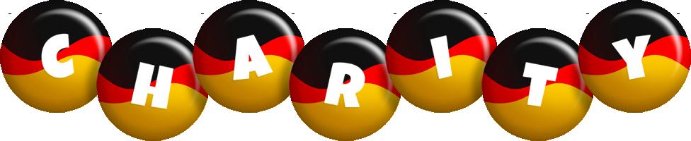 Charity german logo