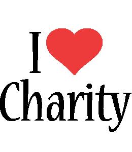 Charity i-love logo