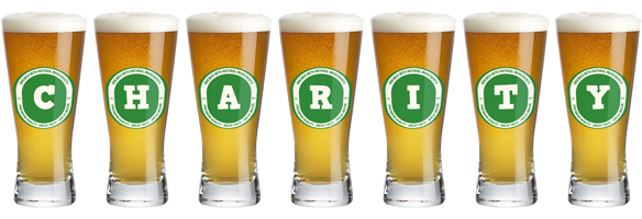 Charity lager logo