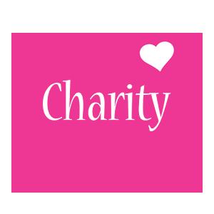 Charity love-heart logo