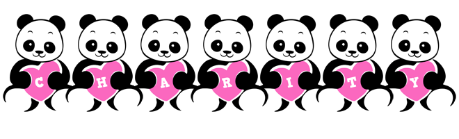 Charity love-panda logo