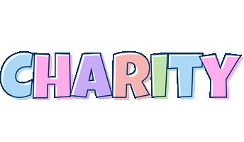 Charity pastel logo