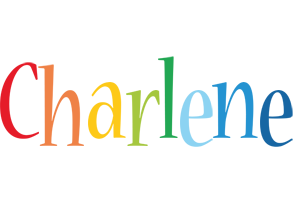 Charlene birthday logo