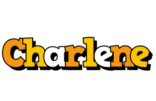 Charlene cartoon logo