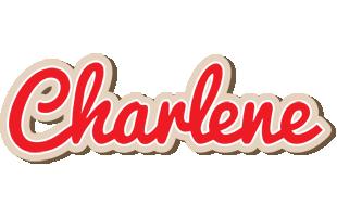 Charlene chocolate logo