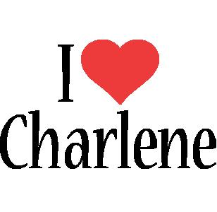 Charlene i-love logo