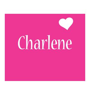 Charlene love-heart logo