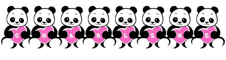 Charlene love-panda logo