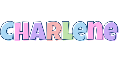 Charlene pastel logo