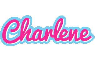 Charlene popstar logo