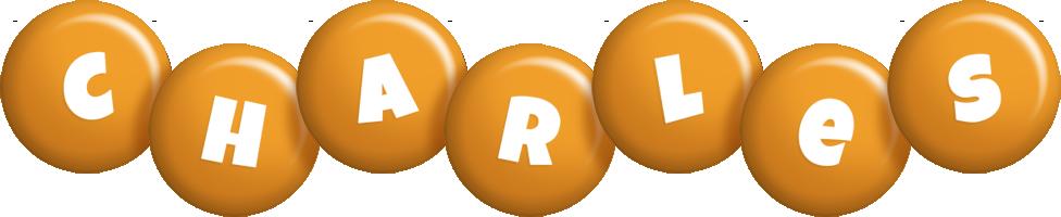 Charles candy-orange logo