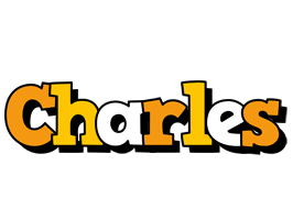 Charles cartoon logo