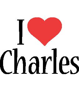 Charles i-love logo