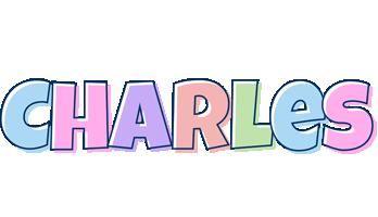 Charles pastel logo