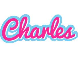 Charles popstar logo