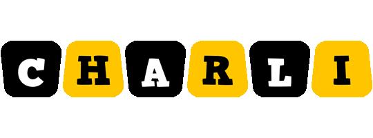 Charli boots logo