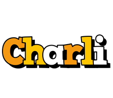 Charli cartoon logo