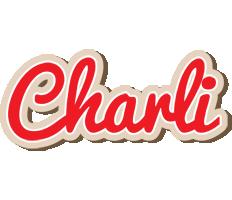 Charli chocolate logo