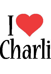 Charli i-love logo