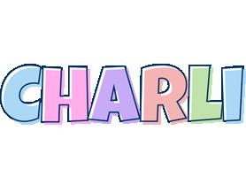 Charli pastel logo