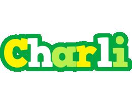 Charli soccer logo
