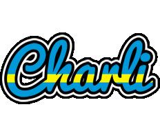 Charli sweden logo