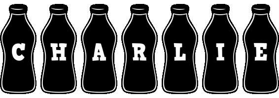 Charlie bottle logo