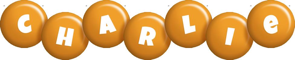 Charlie candy-orange logo