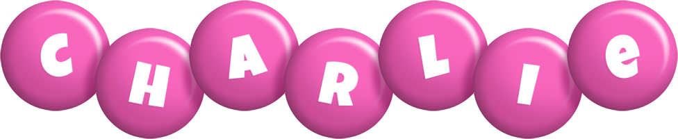 Charlie candy-pink logo