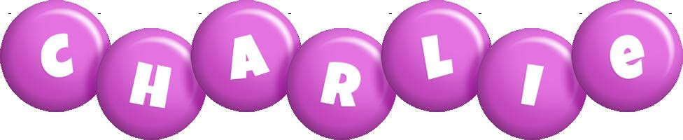 Charlie candy-purple logo