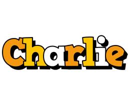 Charlie cartoon logo