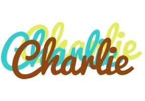 Charlie cupcake logo