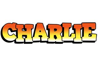 Charlie sunset logo