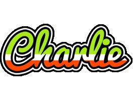 Charlie superfun logo